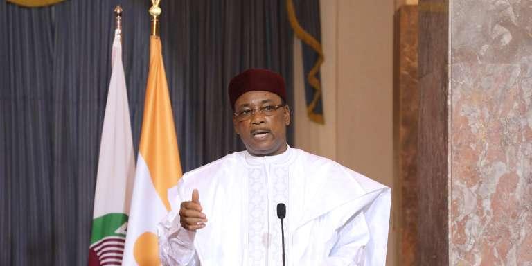 Le président nigérien Mahamadou Issoufou, à Niamey, en décembre 2017.