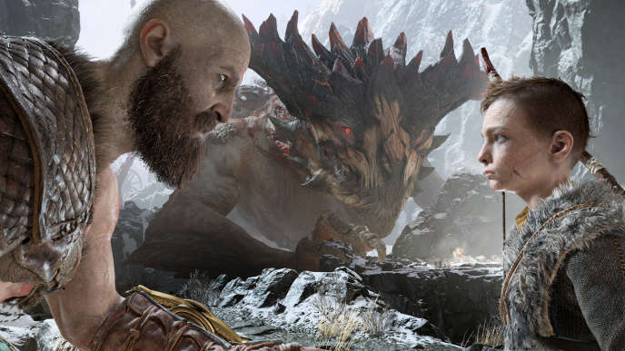 L'histoire de Kratos, dieu déchu et père de famille hésitant, a touché les internautes, qui en ont fait leur jeu de l'année.