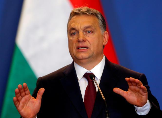 Viktor Orban, à Budapest, en 2017
