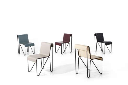 La chaise tubulaire Beugel, dessinée en1927 par l'architecte Gerrit T. Rietveld, fabriquée pour la première fois industriellement grâce à l'étude minutieuse des dessins et de prototypes,Cassina (2018).
