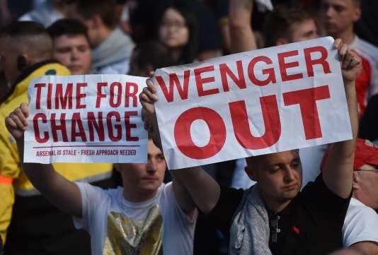 Football: après le départ d'Arsène Wenger, le soulagement des supporteurs d'Arsenal