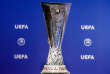 FILE - This Monday, June 19, 2017 file photo shows the Europa League trophy during the drawing of the games for the Europa League 2017/18 first qualifying round, at the UEFA headquarters in Nyon, Switzerland. Authorities in Mexico say the Europa League trophy has been recovered after it was stolen in the central city of Leon. (Salvatore Di Nolfi/Keystone via AP, File)