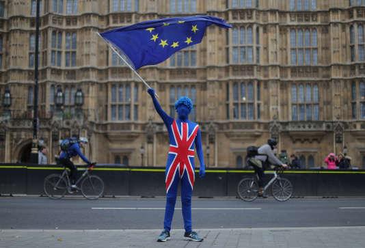 A Londres, le 29 mars.