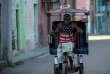 Un vélo-taxi dans les rues de La Havane, le 19 avril.