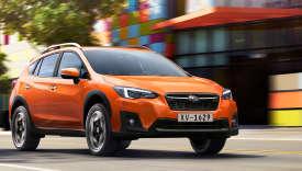 Le coloris « Orange Sunshine», seule excentricité du nouveau Subaru XV.