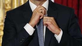 Emmanuel Macron, alors ministre de l'économie, de l'industrie et du numérique, le 15septembre 2015 à Paris.