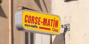 CM Holding aracheté, pour la somme de 3,15 millions d'euros, 35 % des parts du capital de Corse Presse, la société qui éditeCorse-Matin.