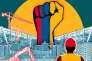 « Et si les guérilleros démobilisés après l'accord de paix signé fin 2016 entre le gouvernement colombien et la guérilla des Forces armées révolutionnaires de Colombie (FARC, extrême gauche) mettaient leur force de travail pour construire une nouvelle Colombie au service de l'industrie du bâtiment, un secteur gourmand en main-d'œuvre ?»
