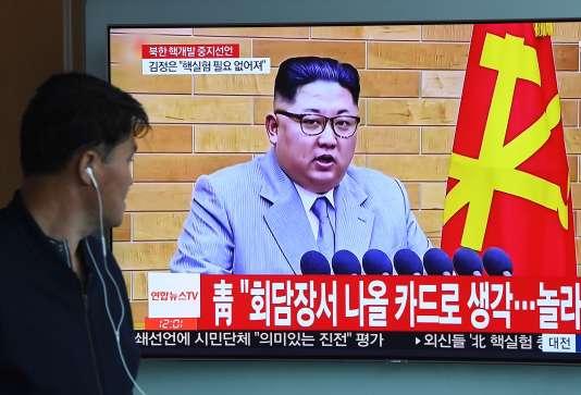 Le dirigeant nord-coréen, Kim Jong-un, a déclaré qu'il allait fermer un site d'essais nucléaires.