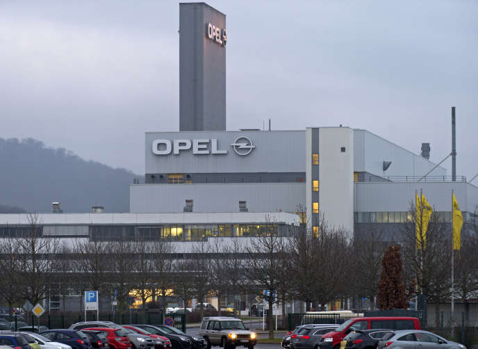 Le site Opel d'Eisenach (Thuringe), en 2013.