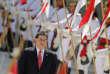 Le président paraguayen Horacio Cartes, qui laissera le pouvoir le 15août, pourrait assister à l'inauguration de la nouvelle ambassade le 21 ou 22mai.