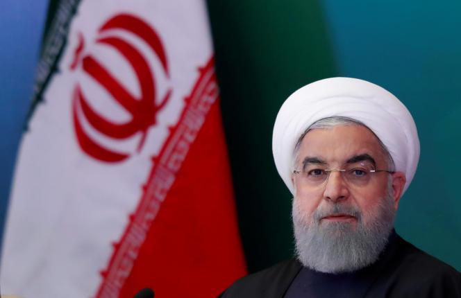 Le président iranien Hassan Rohani, le 15 février.