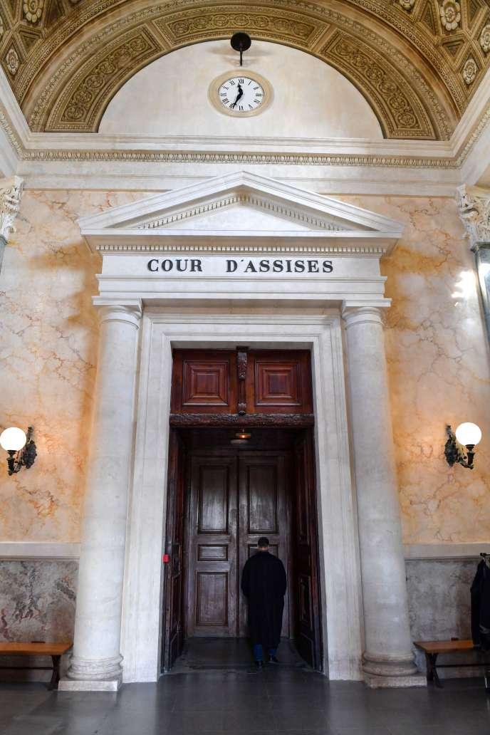 La Cour d'Assises de l'Hérault, au palais de justice de Montpellier.