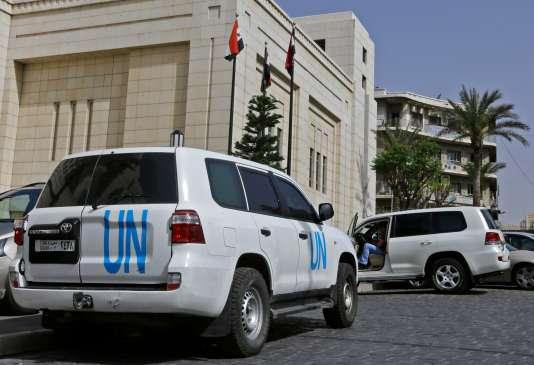 L'équipe de l'OIAC est arrivée en Syrie le 14 avril, son retard pour commencer l'inspection a été expliqué par des raisons de sécurité.