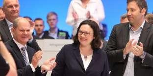 Andrea Nahles est la première femme à diriger le SPD.