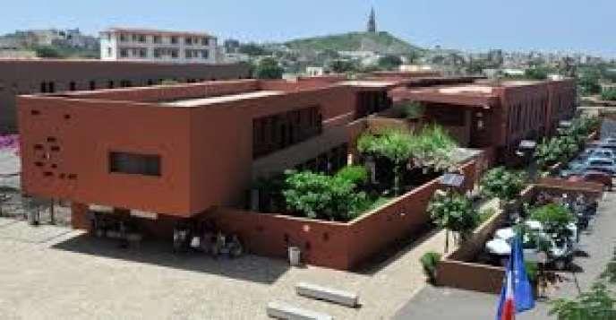 Le lycée français Jean-Mermoz, à Dakar.