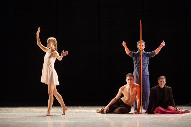 « Yag» (1996), une pièce pour six danseurs interprétée par le L.A. Dance Project.
