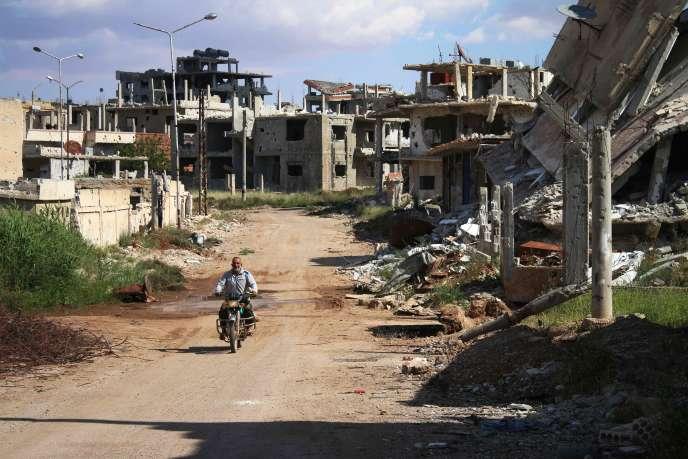 A Deraa, le 28 avril.