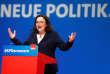Andrea Nahles, la nouvelle présidente des sociaux-démocrates allemands (SPD), à Wiesbaden, le 22 avril.