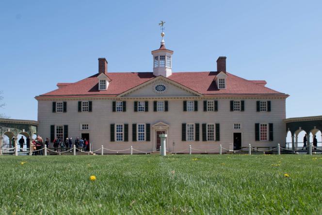 La demeure de George Washington, à Mount Vernon (Virginie), le 18 avril.