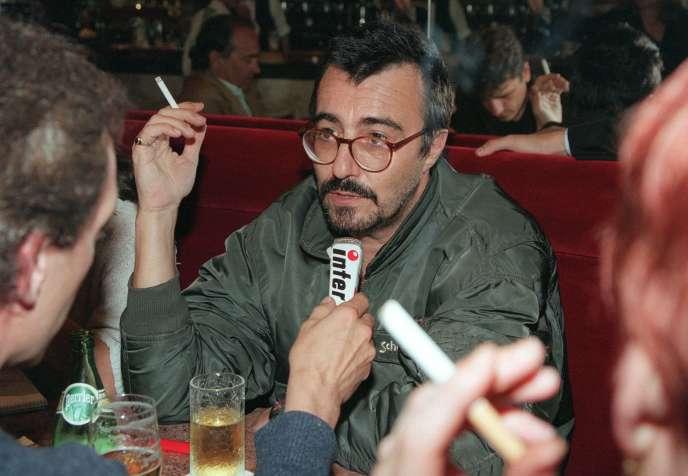 Gilles Millet, en 1998, à Paris.