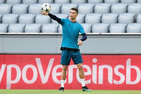 Cristiano Ronaldo et le Real Madrid affrontent le Bayern, le 25 avril 2018.