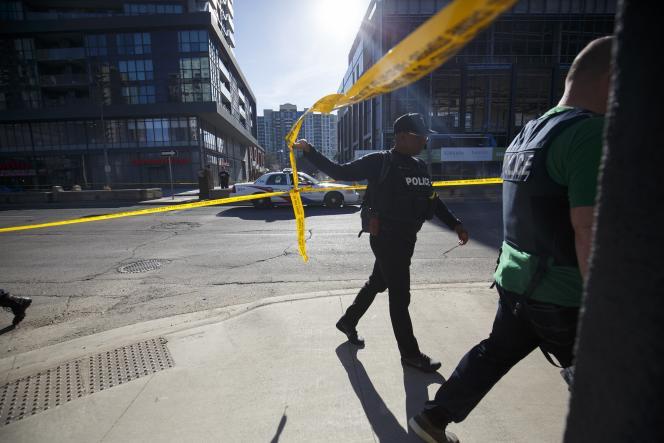 L'attaque à la voiture-bélier du 23 avril à Toronto a fait dix morts et quatorze blessés.