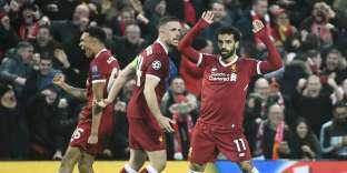 Mohamed Salah a été l'homme du match lors de la victoire de Liverpool contre la Roma mardi.