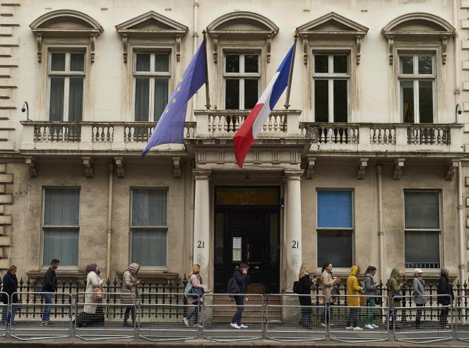Le lycée Charles-de-Gaulle à Londres, en mai 2017.