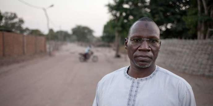 Noureddine Adam, le chef du FPRC, à Birao, en Centrafrique, le 20décembre 2017.