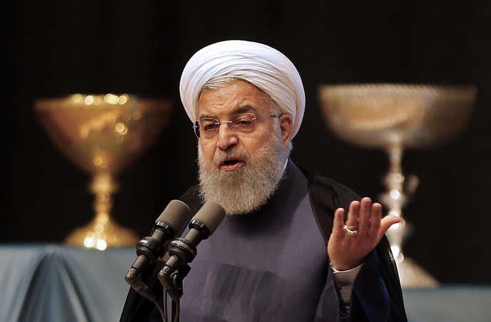 Hassan Rohani, le président iranien, le 25 avril 2018.