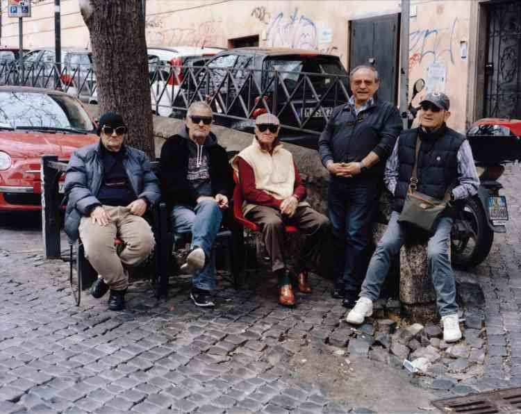 Les lunettes paradent à Rome