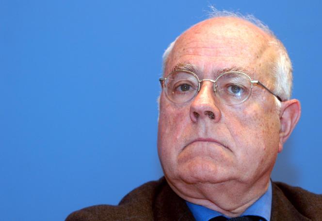 Philippe Hugon, à Paris, le 27 novembre 2003.
