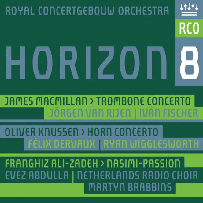 Pochette de l'album« Horizon 8», parle Royal Concertgebouw Orchestra.