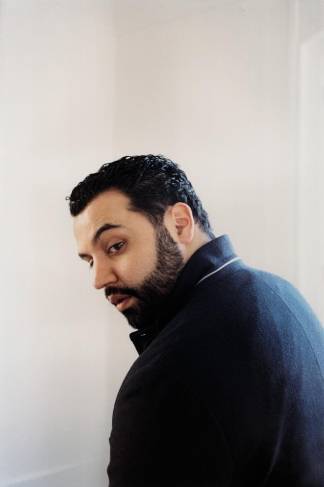 Yassine Belattar, le 17avril à Paris.