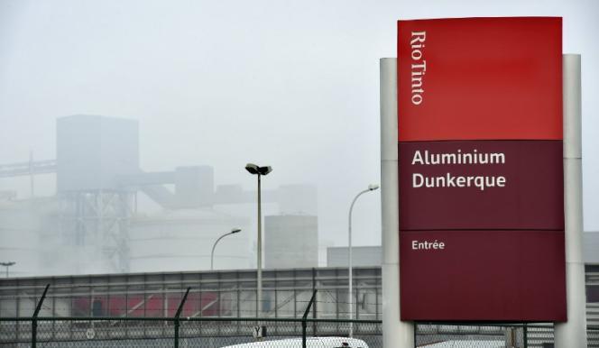 Aluminium Dunkerque à Loon-Plage (Nord), le 11 janvier.