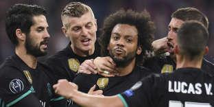 Marcelo,auteur du but de l'égalisation pour le Real face au Bayern, le 25 avril.