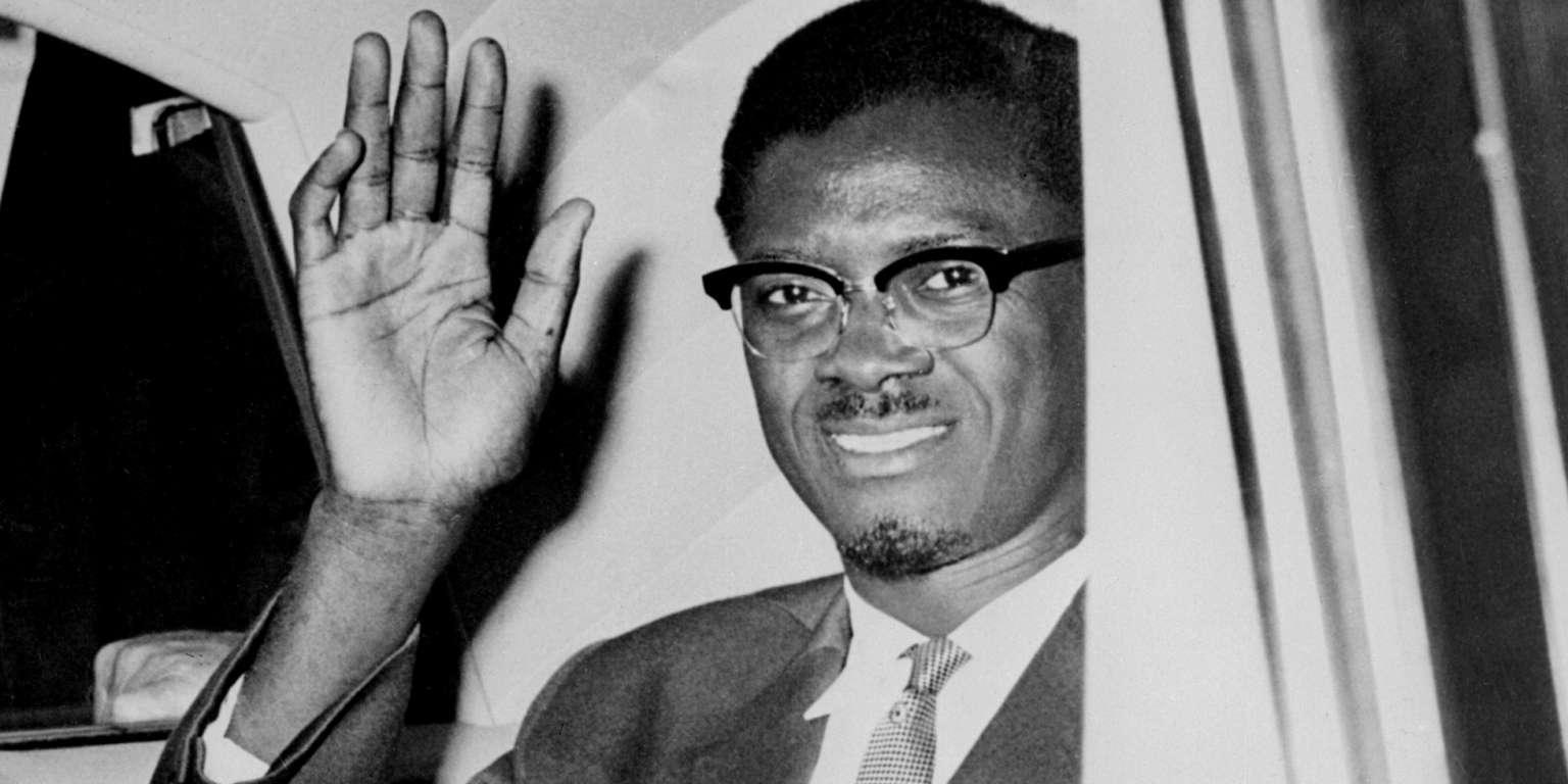 Le premier ministre congolais Patrice Lumumba à l'aéroport d'Idlewild, à New York, le 2 août 1960.