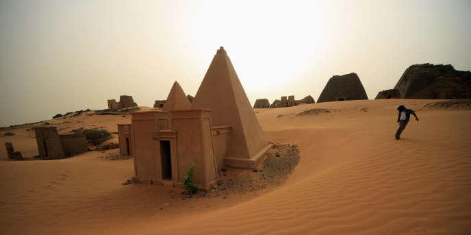 Le site antique de Méroé, au Soudan, en 2012.
