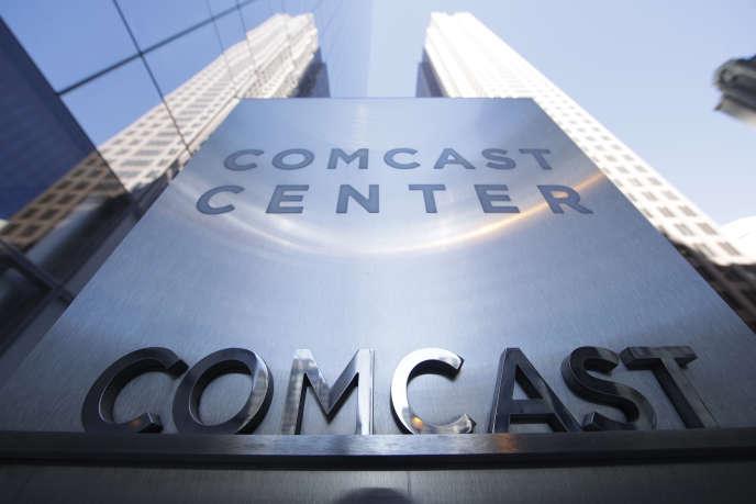 Le Comcast Center à Philadelphia (Pennsylvanie), le 25 avril.