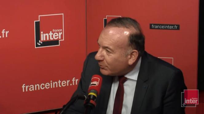 Pierre Gattaz, au micro de France Inter.