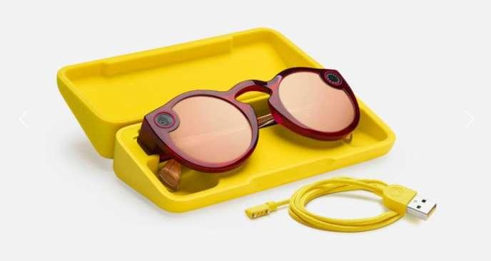 Les nouvelles Spectacles sont plus discrètes que la première version.