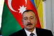 Le président de l'Azerbaïdjan,Ilham Aliev, lors de l'ouverture de négociations avec l'Arménie, le 16 octobre2017, à Genève (Suisse).