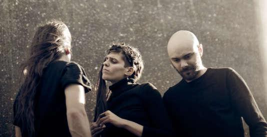 Le trio Igorrr.
