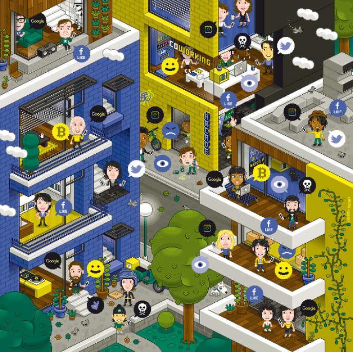«La ville moderne créa l'anonymat : perdu dans la foule urbaine, il devenait plus facile d'échapper au contrôle des mœurs».