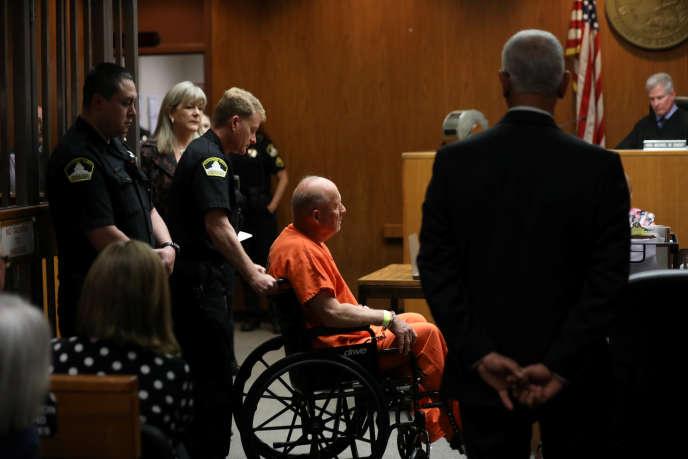Joseph James DeAngelo, 72 ans, a été identifié à la fin d'avril par la police comme étant le tueurprésumé du Golden State, recherché depuis les années 1970.