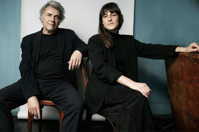 Yves Simon et Juliette Armanet, à Paris, le 27 mars.