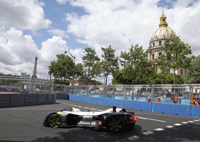 Course de FE à Paris en mai 2017.