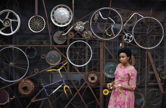 Wanuri Kahiu, la réalisatrice de «Rafiki» (ami en swahili), premier film kényan présenté au Festival de Cannes.