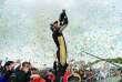 Le pilote Techeetah Jean-Eric Vergne remporte le troisième ePrix de Paris, le 28 avril.